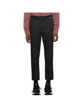 Black Easty Trousers by Tiger Of Sweden Jeans