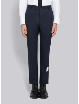 Cotton Twill Unconstructed Chino Trouser by Thom Browne