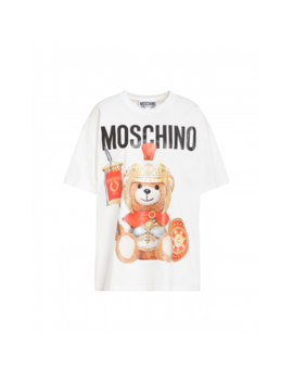 Roman Teddy Bear Jersey T Shirt by Moschino