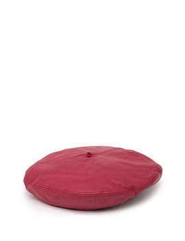 Kate Leather Beret by Eric Javits