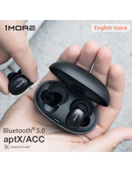 1 More E1026 Bt Stylish True Wireless Tws Earphones Bluetooth 5.0 In Ear E1026 Bt I Bean Headset Support Apt X Acc With Mic by Ali Express.Com