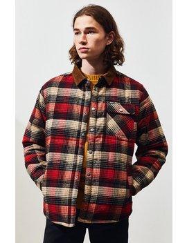 Brixton Cass Plaid Flannel Jacket by Pacsun