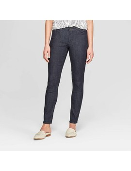 Women's Mid Rise Skinny Jeans   Universal Thread™ Rinse by Universal Thread
