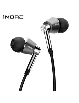 1 More Triple Driver In Ear Earphones Earbuds For I Os And Android Xiaomi Phone Compatible Microphone And Remote E1001 by Ali Express.Com