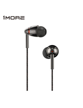 1 More Quad Driver In Ear Earphone With Mic 1 More Quad E1010 Hi Fi Hi Res Earbuds Earphones Headset For Apple Android Xiaomi by Ali Express.Com