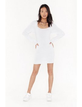 Puff Love Square Neck Mini Dress by Nasty Gal