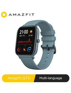 Global Version Amazfit Gts Smart Watch 5 Atm Waterproof Swimming Smartwatch New 14 Days Battery Music Control For Xiaomi Ios Phone by Ali Express.Com
