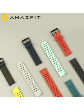 New Original Strap 20mm Amazfit Smart Watch Strap For Xiaomi Original Amazfit Bip Bip Lite Gtr 42mm Watch Amazfit Smartwatch by Ali Express.Com
