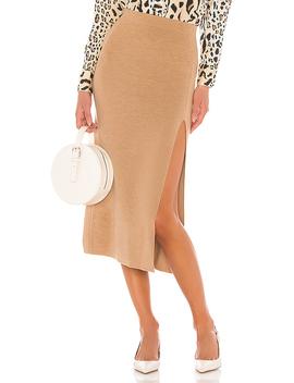 Jara Skirt In Camel by Amur