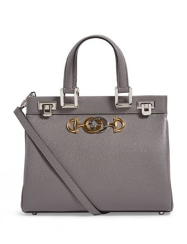 Small Leather Zumi Bag by Gucci