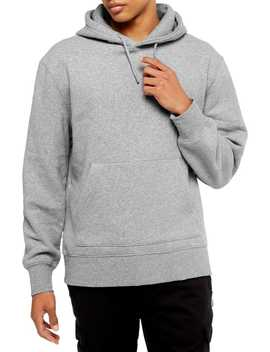 Grey Peached Hoodie by Topman
