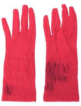 Lace Gloves by Gucci