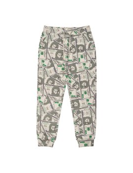 Money Bag Sweat Pants (Green) by Ripndip