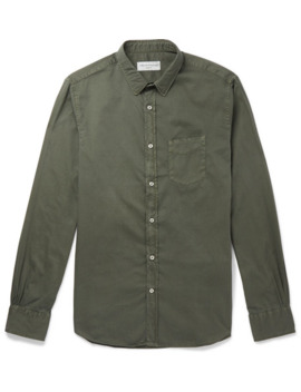Cotton Twill Shirt by Officine Generale