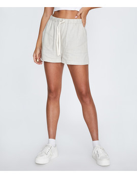 Linen Cuff Short Natural by Au
