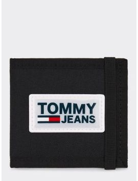 Urban Varsity Logo Small Card Holder by Tommy Jeans