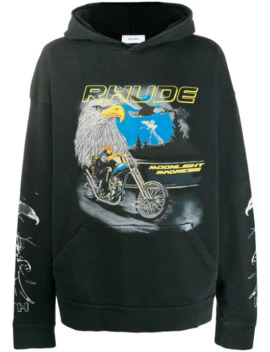 Eagle Moto Hoodie by Rhude