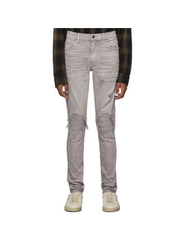 Grey Mx1 Jeans by Amiri