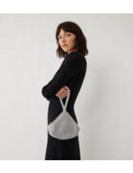 Diamante Clutch Bag by Warehouse