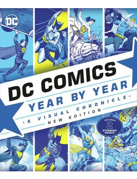 Dc Comics Year By Year: A Visual Chronicle311/6843 by Argos