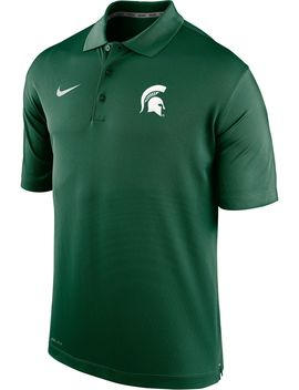 Nike Men's Michigan State Spartans Green Varsity Polo by Nike