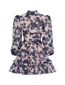 Halo Floral Mini Dress by Keepsake The Label