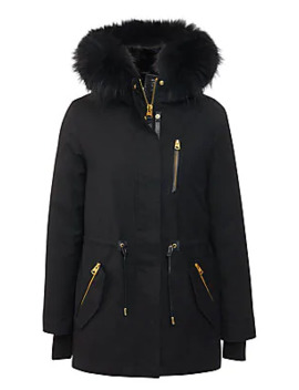 Chara Fur Lined Hooded Parka by Mackage
