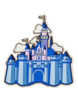 Sleeping Beauty Castle Patched   Disneyland | Shop Disney by Disney