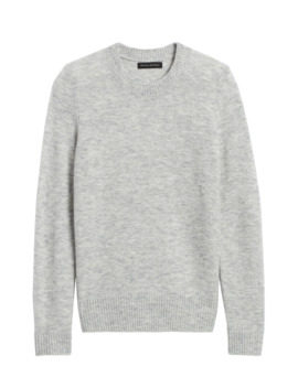 Petite Aire Crew Neck Sweater by Banana Repbulic