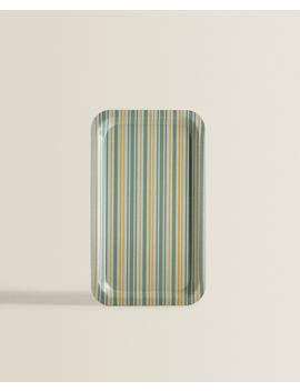 Striped Tray by Zara Home