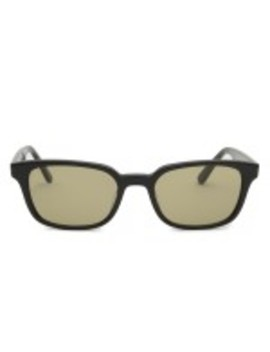 Stussy Owen Sunglasses (Black/Smoke) by Dover Street Market