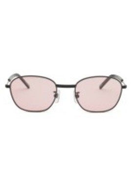Stussy Logan Sunglasses (Black/Blush) by Dover Street Market