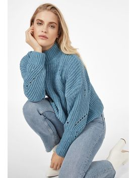 Chenille Sweater by Justfab