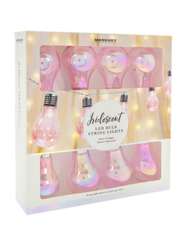 Pink Iridescent Led Lights by Hobby Lobby