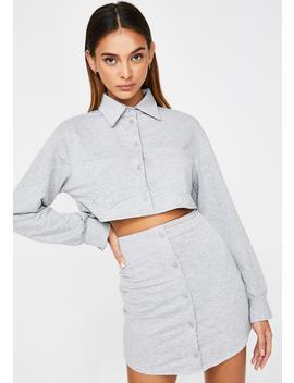 Rocky Gray Skirt Set by Zemeta