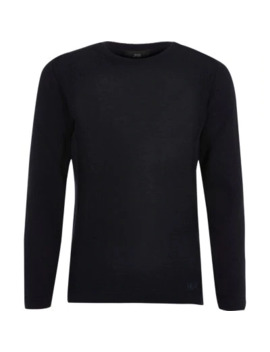Boys Navy Knitted Jumper by River Island