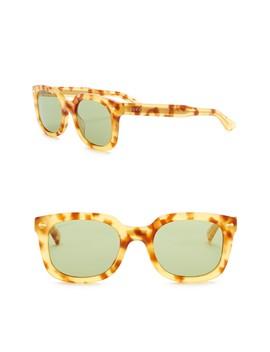 50mm Square Sunglasses by Gucci