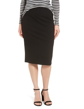 Ponte Pencil Skirt by Halogen