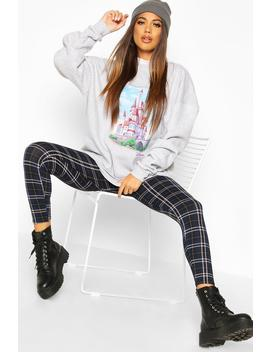 Disney Castle Oversized Sweat by Boohoo