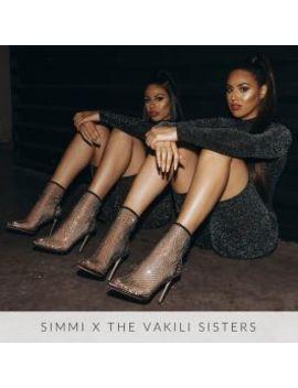 Krystal Black Diamante Fishnet Heels by Simmigirl