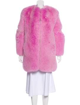 Fox Fur Coat by Gucci
