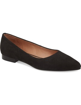 Luna Pointy Toe Flat by Caslon®