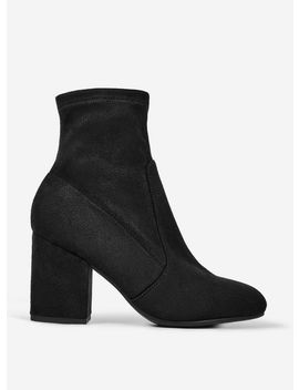 Black 'Avery' Ankle Boots by Dorothy Perkins