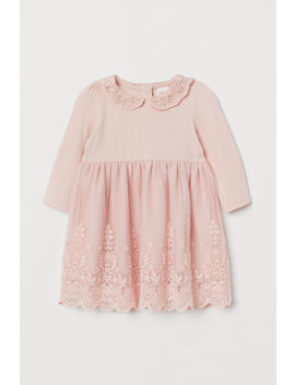 Lace Covered Dress by H&M