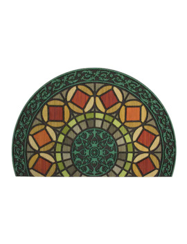 Mohawk Home® Gothic Entry Geometric Rubber Slice Doormat   23'' X 35'' by Mohawk Home
