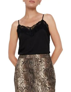 Birsa Lace Trimmed Camisole by Vero Moda