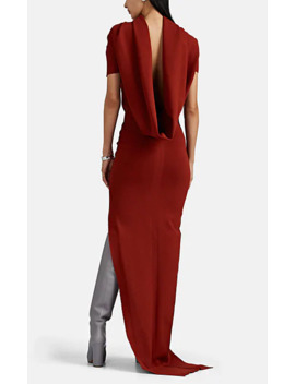 Theresa Draped Back Gown by Rick Owens