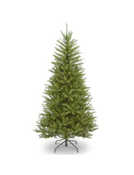 6.5 Ft. Unlit Dunhill® Fir Slim Artificial Christmas Tree by Null