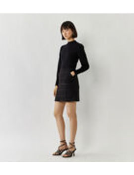 Sparkle Check Miniskirt by Warehouse