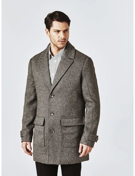 Classic Wool Blend Coat by Guess